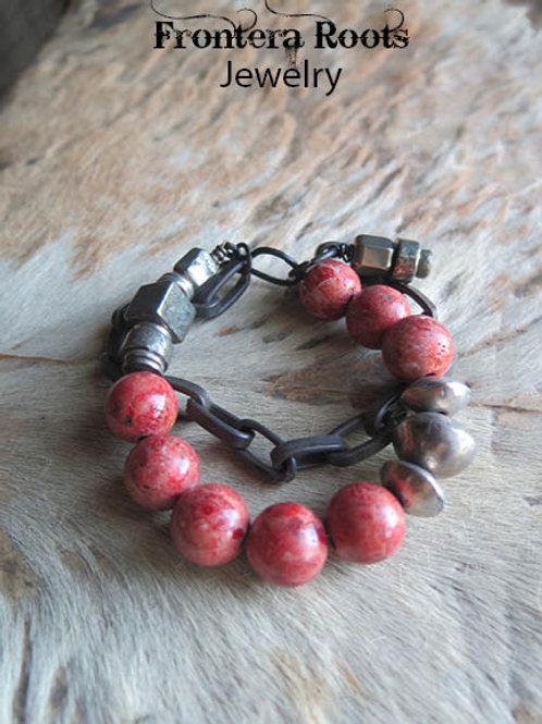 """""""Coral Harvest"""" Bracelet"""