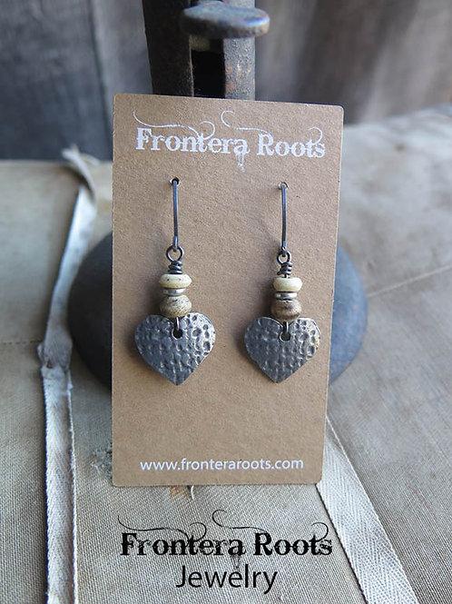 """""""Pounding Heart"""" Earrings"""