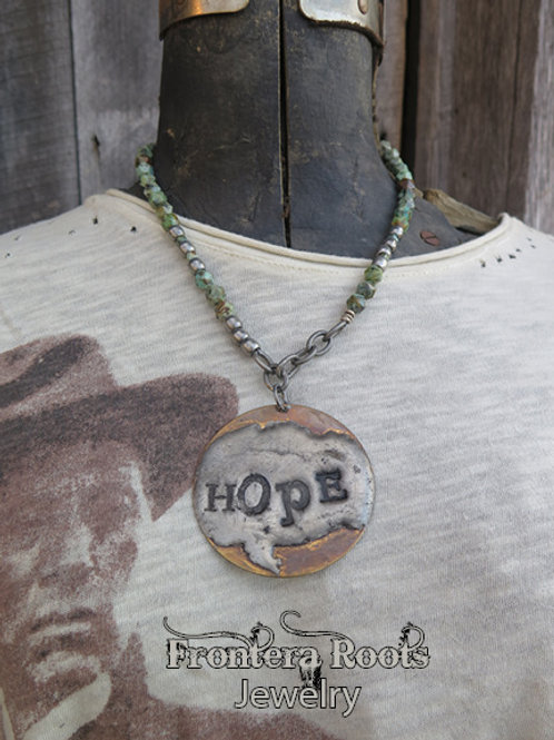 """Hopeful"" Necklace"