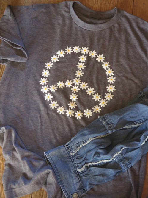 """Flower Peace"" T Shirt"