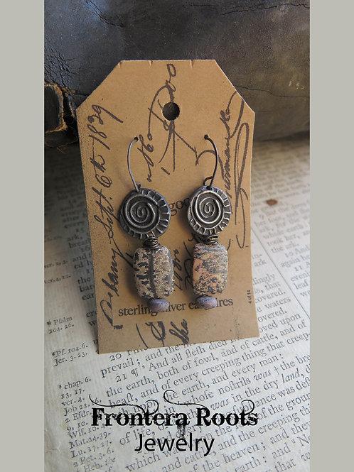 """""""High Noon"""" Earrings"""