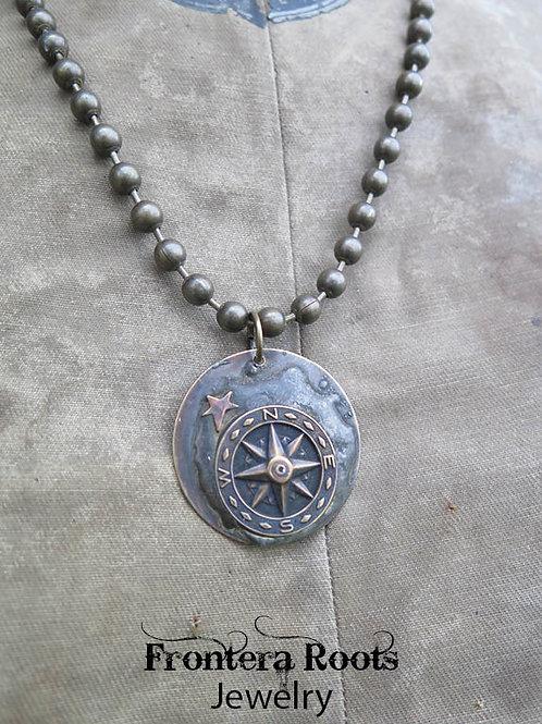 """""""True North"""" Necklace"""