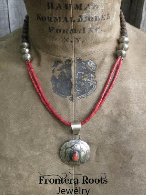 """Prescott Eagle"" Necklace"