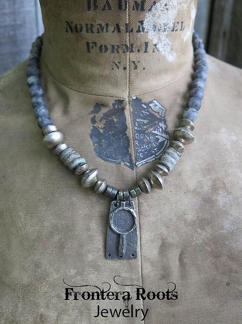 """Gray Dawn"" Necklace"