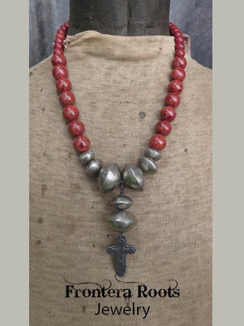 """""""Native Coral"""" Necklace"""