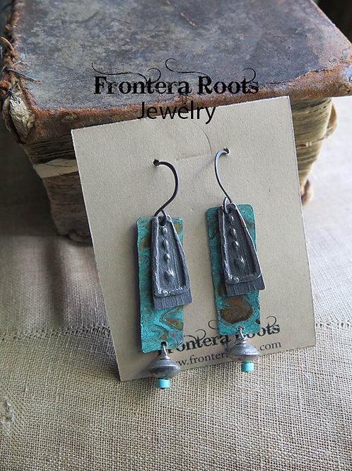 """""""Folky"""" Earrings"""