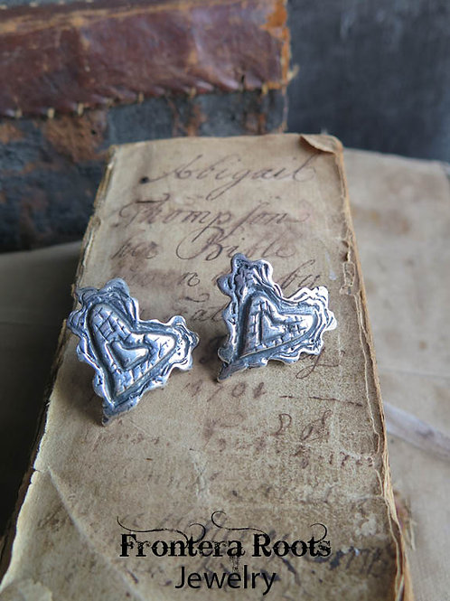 """""""Tender Hearted"""" Earrings"""