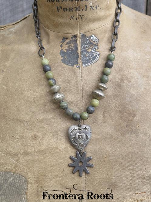 """""""Gambrel"""" Necklace"""