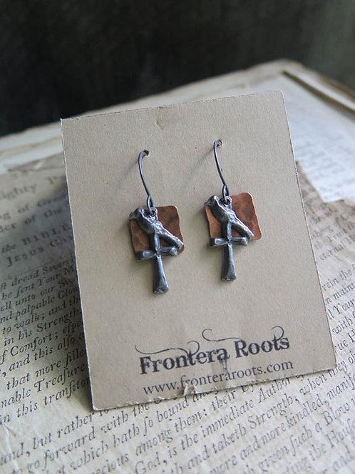"""Rook"" Earrings"