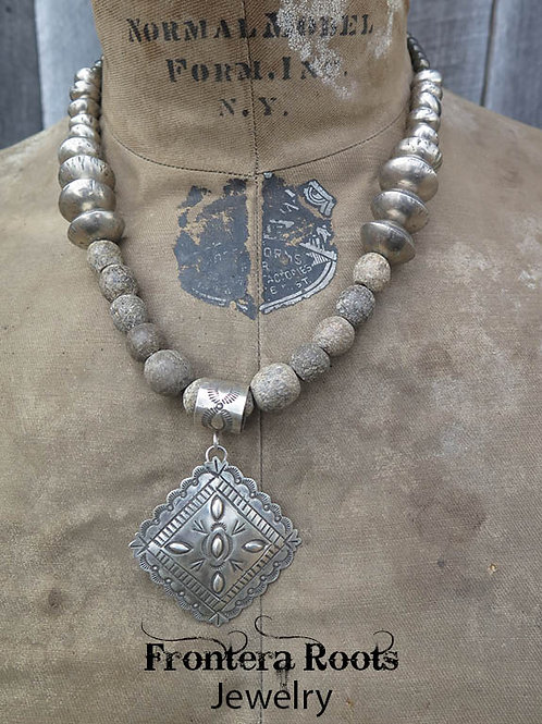 """Repousse"" Necklace"
