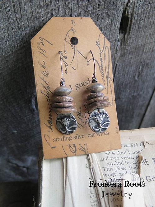 """""""Flower Market"""" Earrings"""