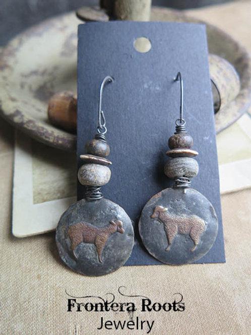 """""""Woolston"""" Earrings"""