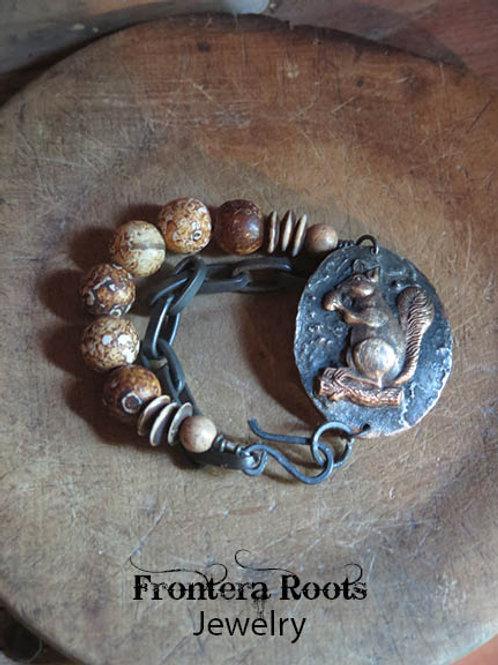 """Squirrly"" Bracelet"