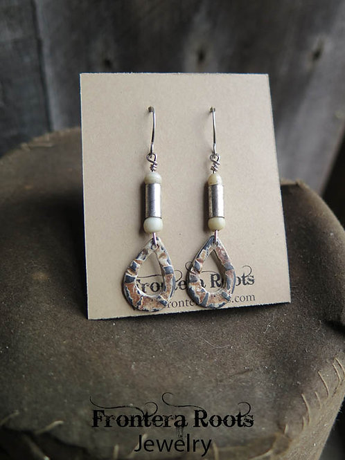 """""""Painted Rock"""" Earrings"""