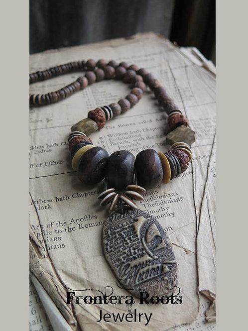 """Stone's Throw"" Necklace"