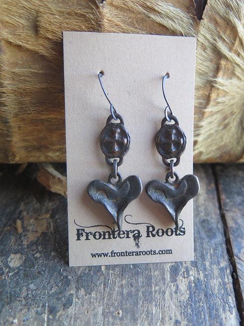 """""""Flat Creek"""" Earrings"""