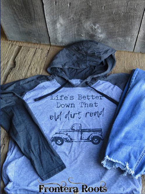 """""""Dirt Road"""" Hoodie"""