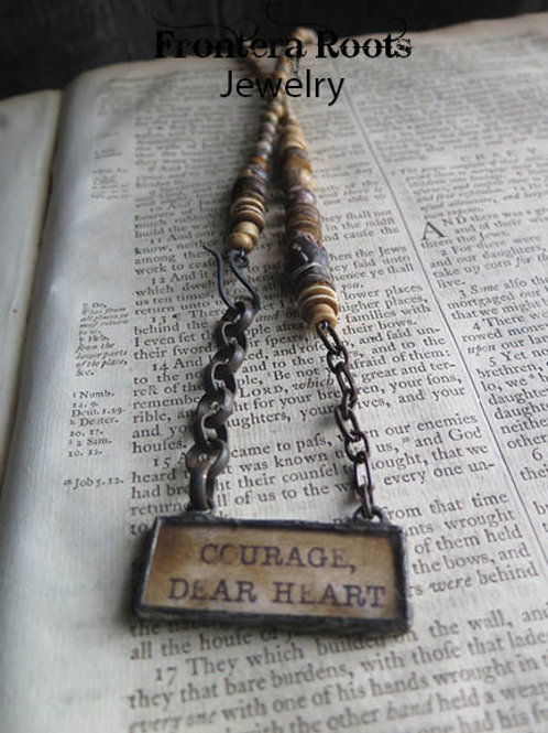 """""""Courage"""" Necklace"""