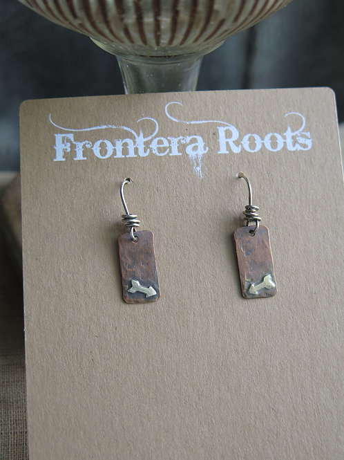 """Forged"" Earrings"