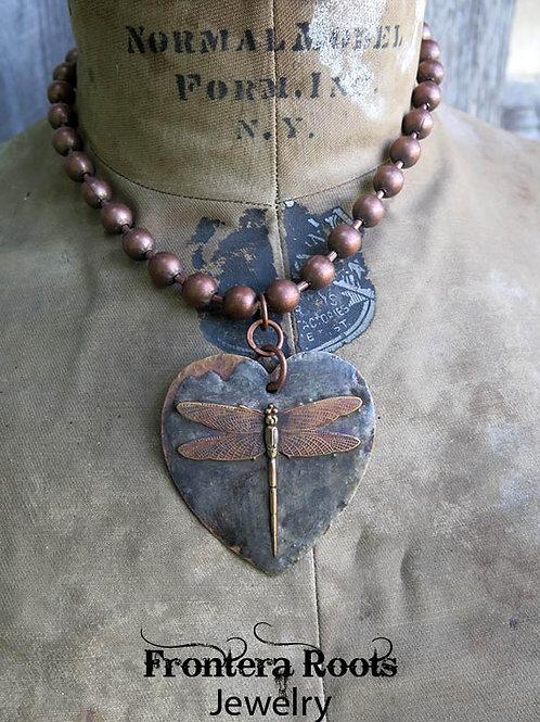 """Grassflat"" Necklace"