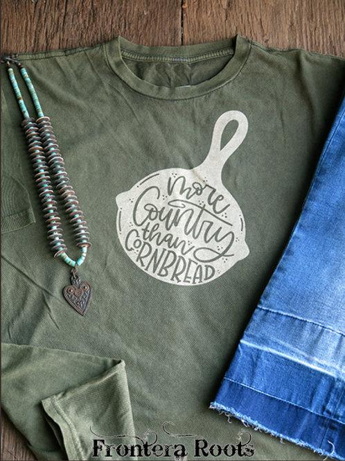 """Country Cornbread"" T Shirt"