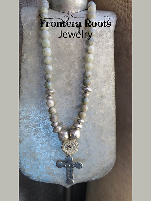 """Prayer Warrior"" Necklace"