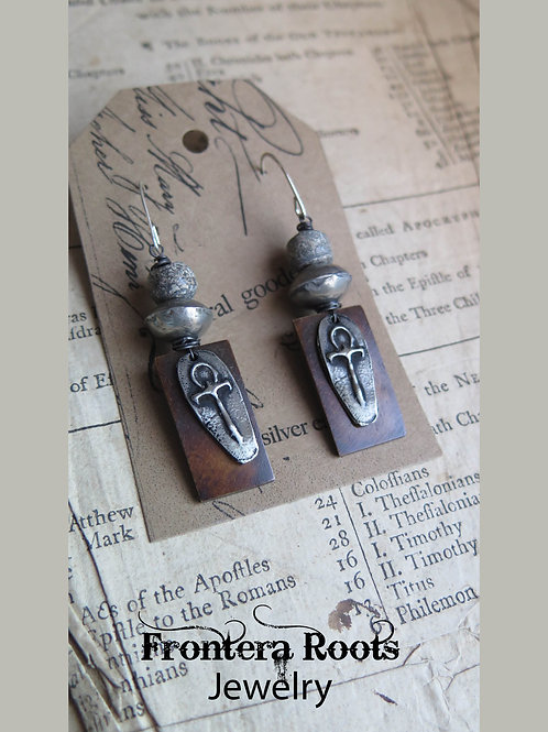 """Steadfast"" Earrings"