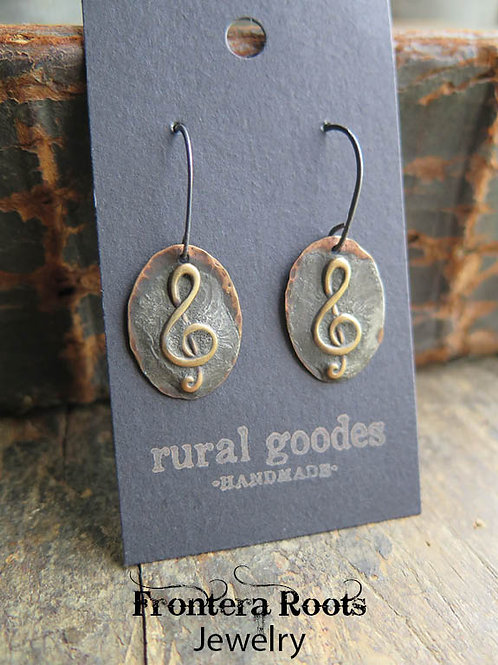 """Musical"" Earrings"