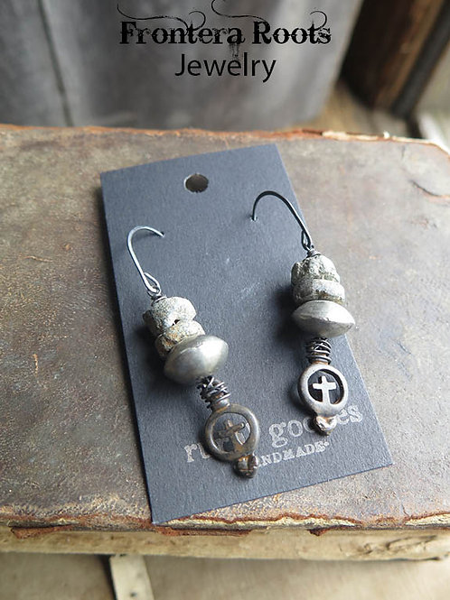 """""""Unearthed"""" Earrings"""