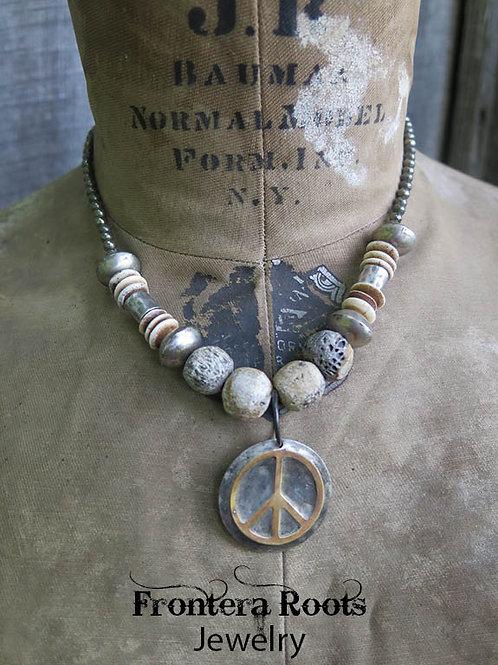 """""""Peace, Love ..."""" Necklace"""