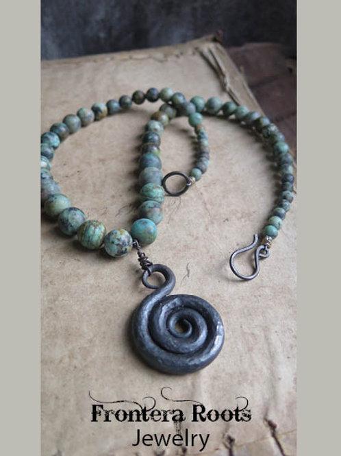 """""""Spiral"""" Necklace"""