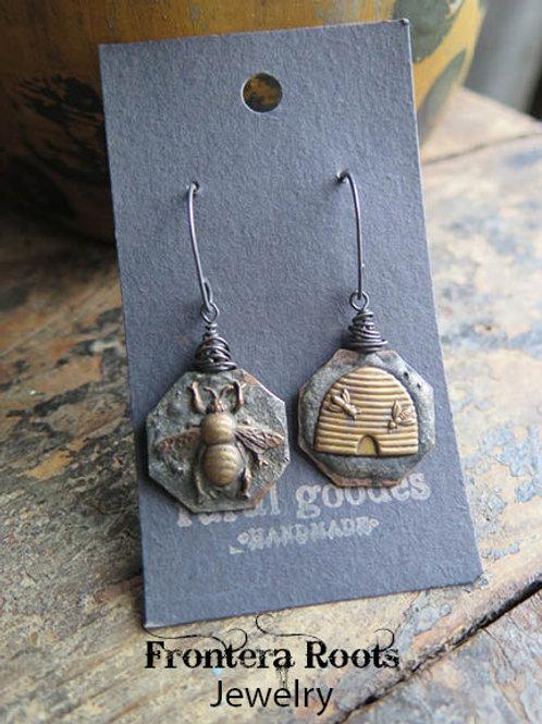 """""""Farmdale"""" earrings"""