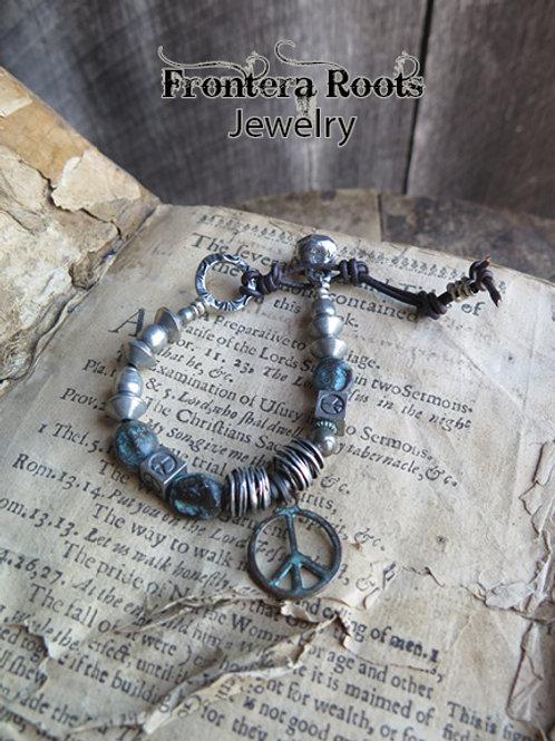 """""""World Peace"""" Bracelet"""