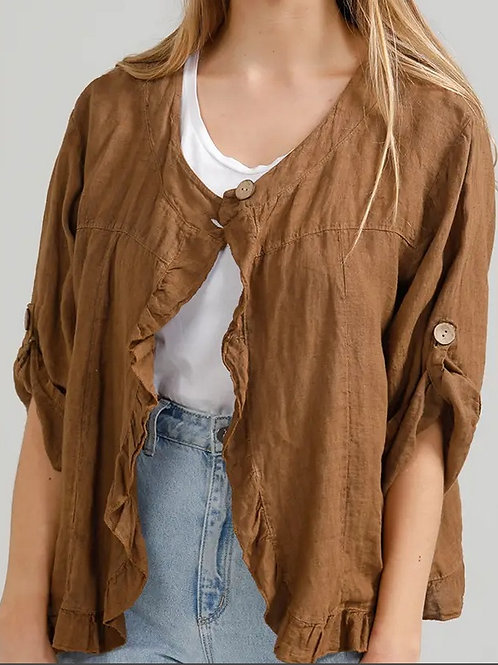 """Nash"" Linen Jacket"
