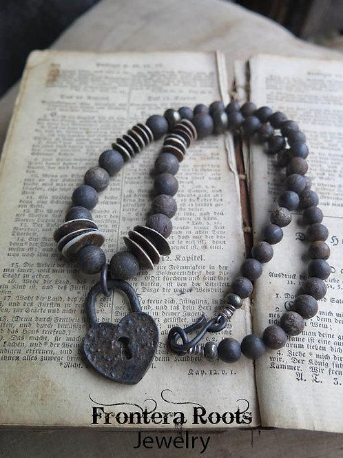 """Locked Heart"" Necklace"