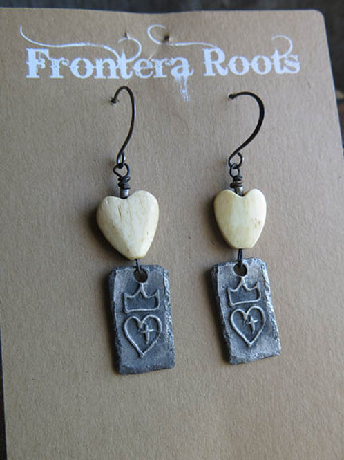 """Love Your Heart"" Earrings"