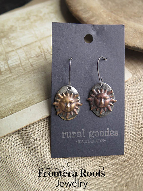 """Soldered Sunshine"" Earrings"
