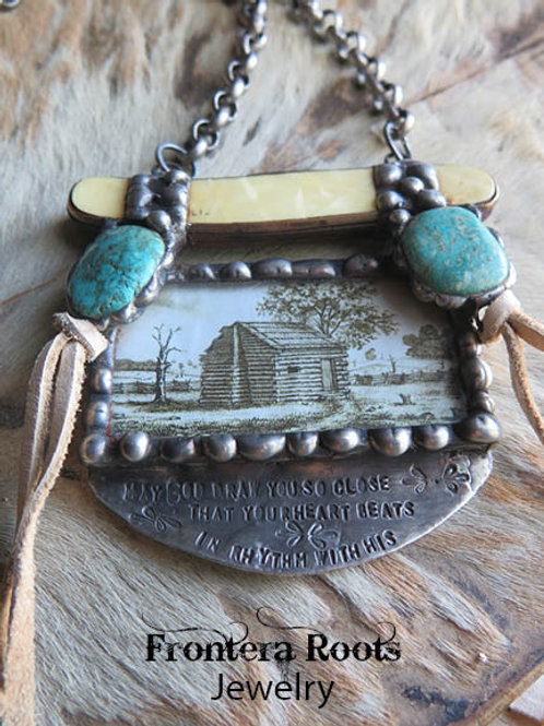 """Cabin in the Woods"" Necklace"