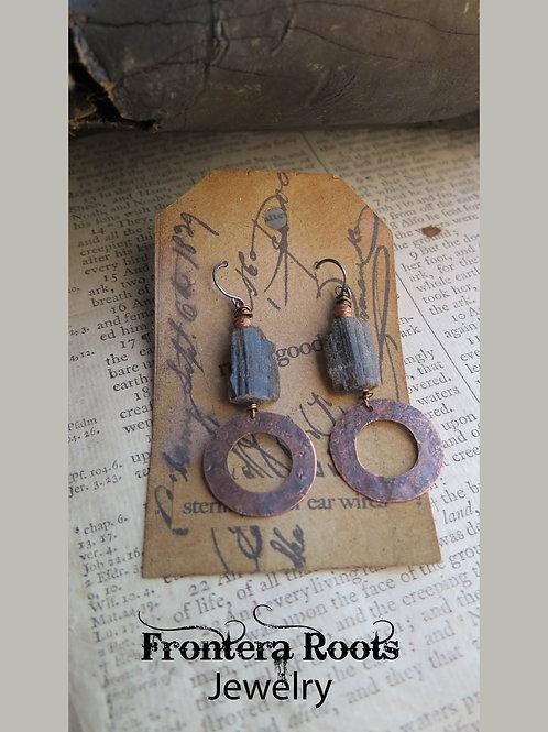 """""""Black Magic"""" Earrings"""