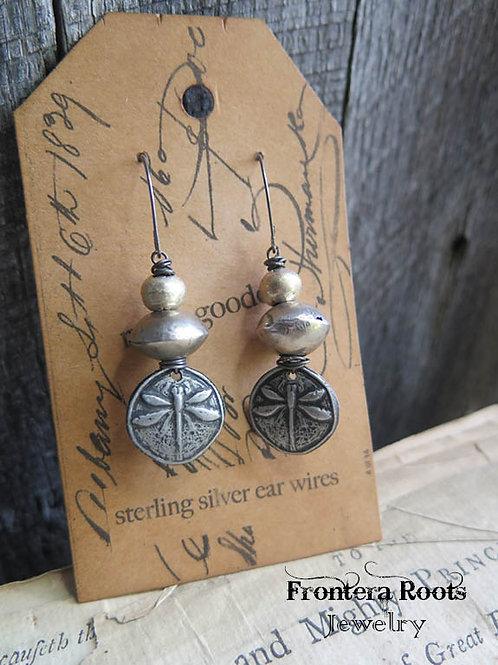 """""""Dragonfly"""" Earrings"""