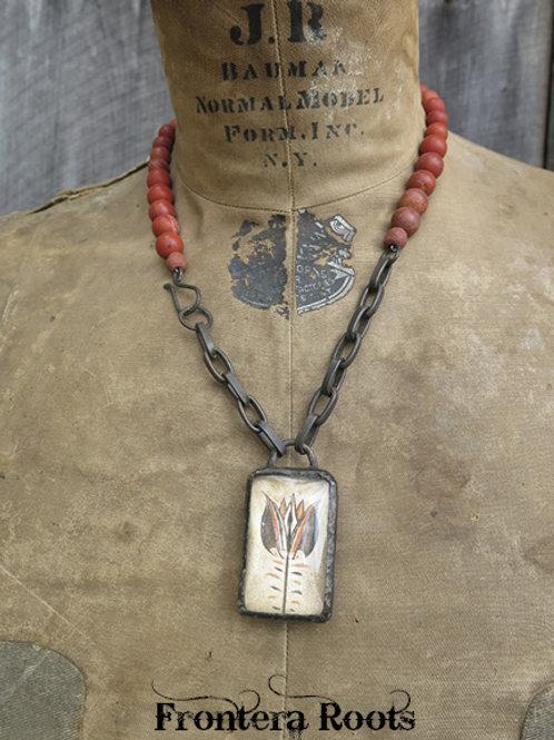 """""""Fraktur"""" Necklace"""