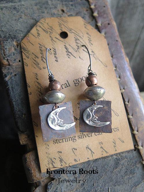 """Over the Moon"" Earrings"