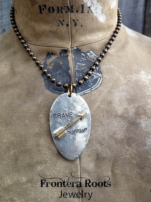 """""""Brave Warrior"""" Necklace"""