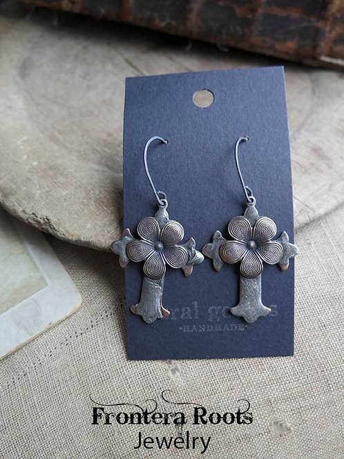 """""""Gilded Lily"""" Earrings"""