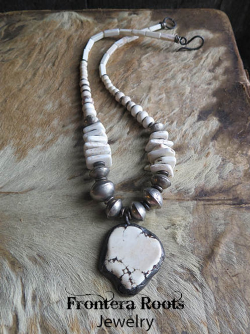 """Western Snow"" Necklace"