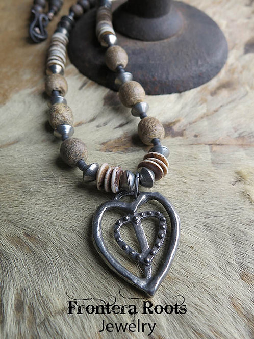 """""""Your Heart in Mine"""" Necklace"""