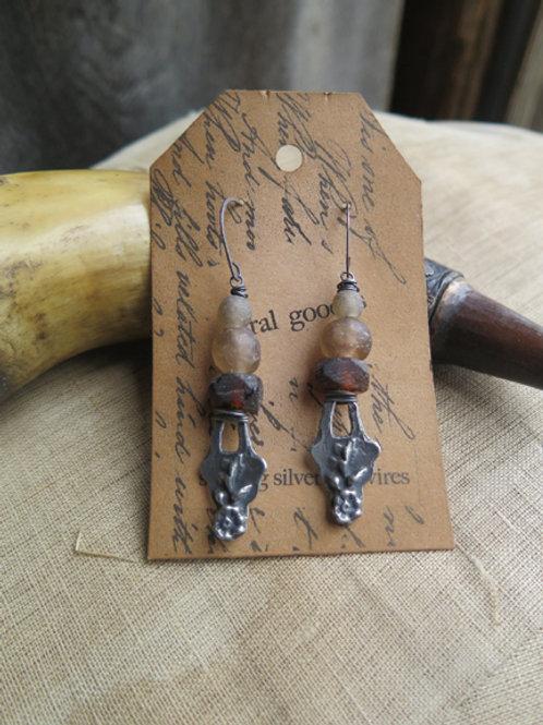 """""""Flower Basket"""" Earrings"""