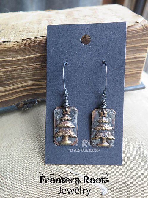 """Evergreen"" Earrings"