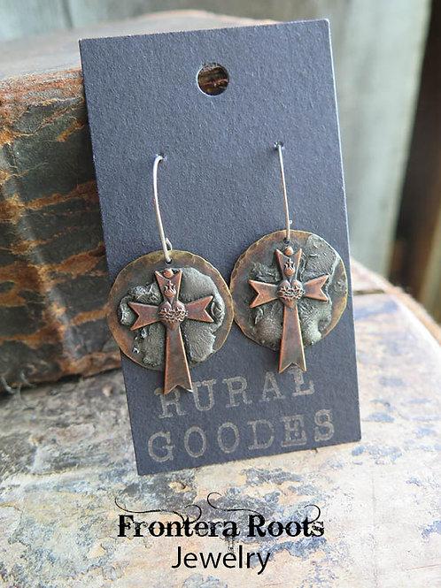 """""""Sacred Heart"""" Earrings"""