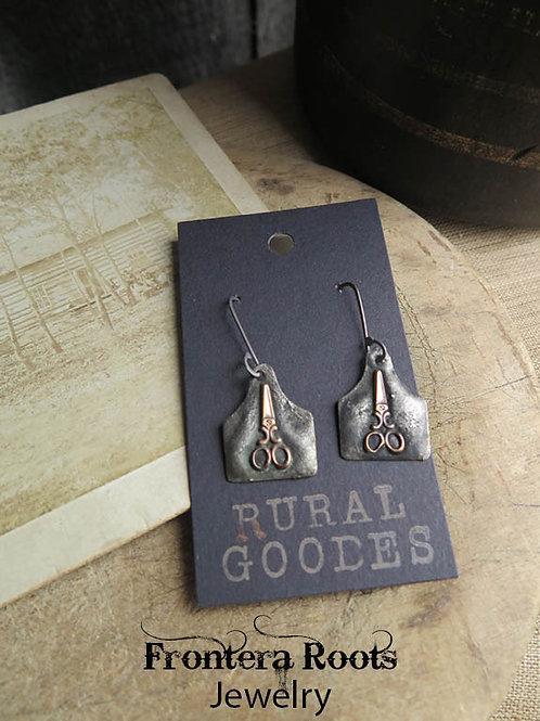 """""""Scissors""""  Earrings"""
